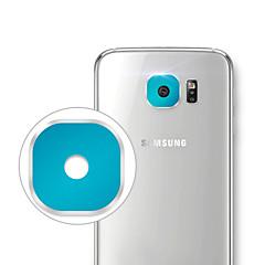 (アソートカラー) - サムスンS6 / g9200 / S6エッジ/ g9250の保護アルミ合金カメラのレンズカバーガード