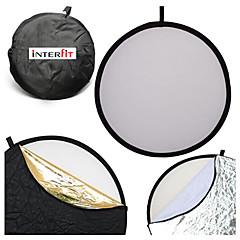 Interfit 110cm 43 pouces 5-en-1 repliable réflecteur de lumière multi-disque