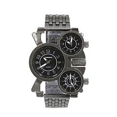 shiweibao militære stål belte dominerende watch menn tre tidssoner