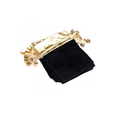 10pcs Velvet Drawstring Jewelry Gift Bag Pouch 4.7x3.5""