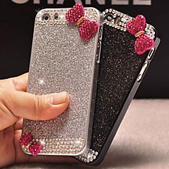 luxe bling paillettes bowknot cas de couverture arrière avec un diamant pour l'iphone 5 / 5s (couleurs assorties)