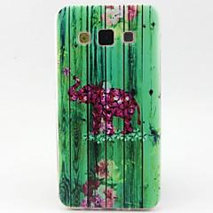 Varten Samsung Galaxy kotelo Kuvio Etui Takakuori Etui Elefantti TPU Samsung A5 / A3