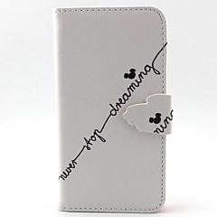 Na Samsung Galaxy Etui Etui na karty / Z podpórką / Flip / Wzór / Magnetyczne Kılıf Futerał Kılıf Napis Skóra PU Samsung A5 / A3