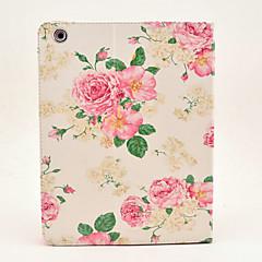 oppskalere peon blomst malt tablet pc tilfelle for iPad2 / 3/4