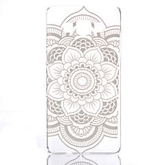 Voor Samsung Galaxy hoesje Transparant / Patroon hoesje Achterkantje hoesje Mandala PC Samsung A5 / A3