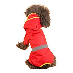 Rojo/Verde/Amarillo/Naranja - A Prueba de Agua - Material Mixto - Impermeable - Perros -