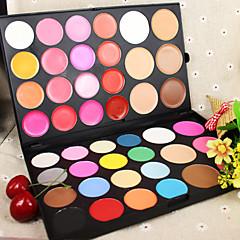 44 Ρουζ Ματ Λαμπύρισμα Επεκταμένο Χρωματιστό γκλος Pokrivenost Κονσίλερ Φυσικό Πρόσωπο Μάτια Χείλια Διαθέσιμα χρώματα