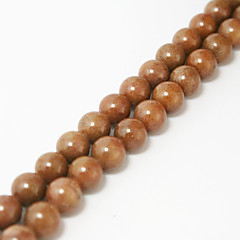 Beadia 39Cm/Str (Approx 48Pcs) Natural Stone Beads 8mm Round Strawberry Crystal Quartz Loose Beads DIY Accessories