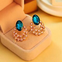 Kristal Luxe Sieraden imitatie Diamond Goud Schermkleur Sieraden Voor