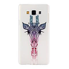 Varten Samsung Galaxy kotelo kotelot kuoret Kuvio Takakuori Etui Eläin PC varten Samsung A7 A5 A3