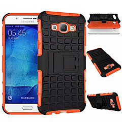 TPU+PC Heavy Duty Armor Stand Case Protective Skin Double Color Shock Prooffor For Samsung Galaxy A8/A7/A5/A3