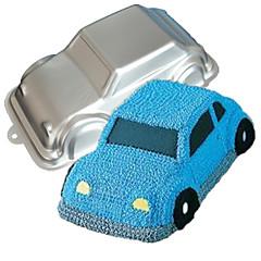 Négy-c autó formája alumínium torta tepsiben penész, sütés kellékek