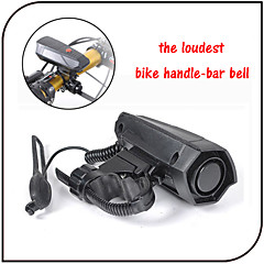 Mountain Bike/ Road Bike/ Fixed Gear/Cycling Bike Horns Handle-bar Bell 100-120DB ABS Electronic Bicycle Horn