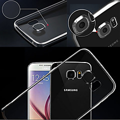 TPU transparente affaire ultra-mince souple pour samsung galaxy note 5 (de couleur assortie)