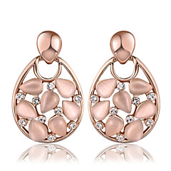 Silver Plated Earring Drop Earrings Wedding/Party/Daily/Casual 2pcs