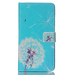 Mert Samsung Galaxy Note Pénztárca / Kártyatartó / Állvánnyal / Flip Case Teljes védelem Case Pitypang Műbőr Samsung Note 4 / Note 3