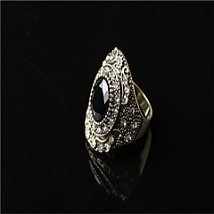 Fashion Brighton Crystal/Alloy/Gold Plated Ring Style Ring Restoring Ancient Ways Band Rings Wedding/Party/Casual 1pc