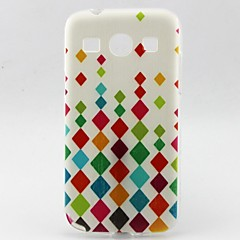 Small Diamond TPU Soft Case for Galaxy Trend 3 G3502U