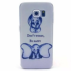 Big Ears Elephant Pattern PC Material Phone Case for Galaxy S6 / Galaxy S6 edge / Galaxy S3 / Galaxy S5Mini