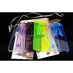 투명 토끼 귀 패턴이 삼성 갤럭시 S6 / S5 / S4 / S6 가장자리 스탠드 보호 케이스 TPU (모듬 색상)
