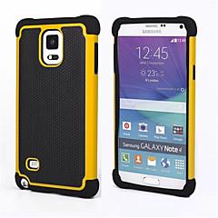 Mert Samsung Galaxy Note Ütésálló Case Hátlap Case Páncél PC Samsung Note 4 / Note 3