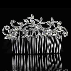 Alloy/Rhinestone Hair Combs Wedding/Party/Daily Headpieces/Hairjewelry 1pc