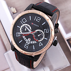 Men'S Watch Classical Calendar Korean Version Luxury Brands Simple Quartz Business Watch