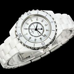 Women's Fashion Diamante High Imitation Ceramics Quality Japanese Quartz Wrist Watch Cool Watches Unique Watches