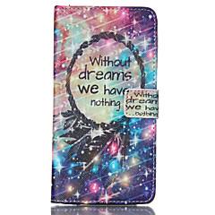 For Samsung Galaxy Note Pung Kortholder Med stativ Flip Etui Heldækkende Etui Ord / sætning Kunstlæder for Samsung Note 4 Note 3