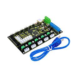 Mesa mks 3d control de la impresora Keyes generación v1.2, envíe la línea del usb, negro