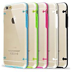 iPhone 7 ultra läpinäkyvä hehkuu pimeässä iPhone 6s 6 plus