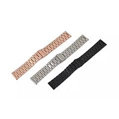 roestvrij stalen horloge band voor LG W100 (assorti kleur)