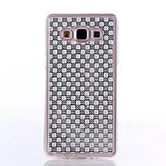 TPU diamante seguinte forma para Samsung Galaxy e5 e7 j1 J5 J7
