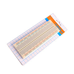 830 point SOLDERLESS breadboard for Arduino hindbær pi