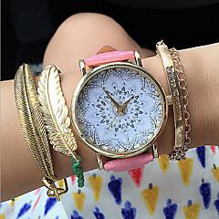 New Lotus Watches Geneva Vintage Flower Pattern Watch Fashion Accessories Cool Watches Unique Watches