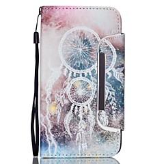 Voor Samsung Galaxy Note Kaarthouder / Portemonnee / met standaard / Flip hoesje Volledige behuizing hoesje Dromenvanger PU-leer Samsung