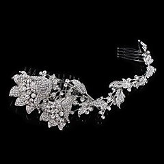 Vintage Charming Design Wedding Bride  Starfish Headband Cown Crystal And Pearls Hair Accessior Mermaid