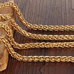 Choker-Halsband ( Guldpläterad , Gyllene ) - till Bröllop/Party/Dagligen/Casual