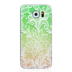 Transparent Beautiful TPU Soft Back Case for Samsung Galaxy S6/s6 edge/S4/S5/S3 mini/S4 mini/S3