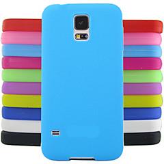 yksivärinen hyytelö silikonikotelo suunnittelu malli Samsung Galaxy S4 Mini i9190