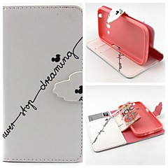 Mi Qitou Pattern Full Body Cover with Card Slot for Samsung Trend 3 G3500/G355H/G357/G360/G386F/G850F/G5308W