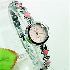 Mulheres Relógio de Moda Relógio Casual Quartzo imitação de diamante Banda Azul Rosa Roxa marca