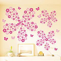 Forma fiori multifunzione pvc adesivi decorativi 108pcs for Decorazioni per la casa online