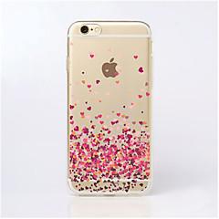 maycari®paved rakkaudella läpinäkyvä TPU takakannen iPhone 5 / iphone 5s