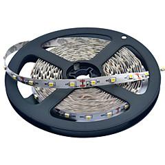 JIAWEN® 5 M 300 3528 SMD Теплый белый / белый Можно резать / Компонуемый 25 W Гибкие светодиодные ленты DC12 V