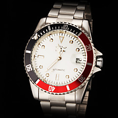 Men's Luxury Classic Design Auto Mechanical Steel Strap Watch