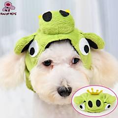 Γάτες / Σκυλιά Στολές / Σύνολα / Μπαντάνες & Καπέλα Πράσινο Ρούχα για σκύλους Χειμώνας Γάμος / Στολές Ηρώων / Halloween