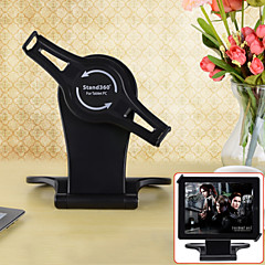 """360°Rotary Foldable Holder for iPad / 7""""-10"""" Tablet PC - Black"""