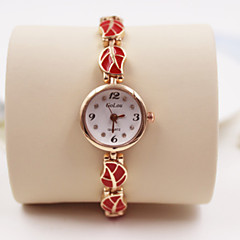 Woman Fashion Steel Belt  Quartz Wrist Watch