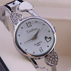 แฟชั่นสุภาพสตรีนาฬิกาออกแบบรูปหัวใจนาฬิกาสร้อยข้อมือ
